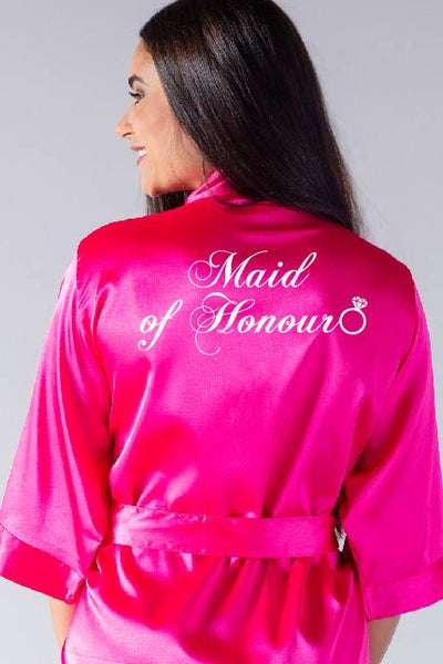 Ring Style - Maid of Honour Robe