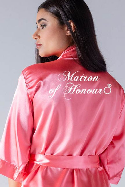 Ring Style - Matron of Honour Robe
