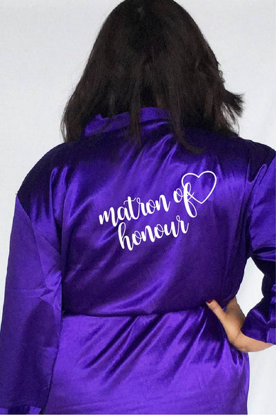 Heart Style - Matron of Honour Robe