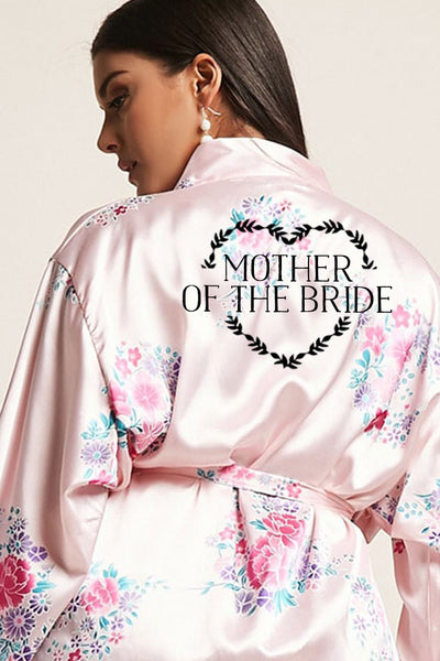 Heart Wreath Style - Mother of the Bride Robe