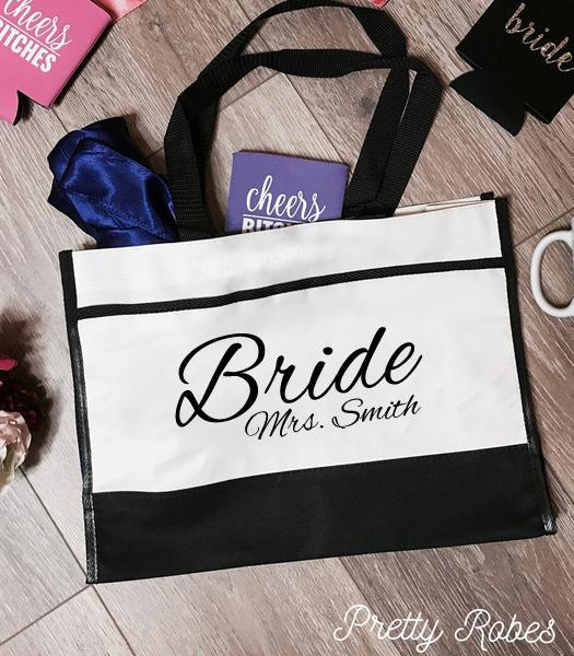 Bride - Mrs. Smith Premium Trim Tote