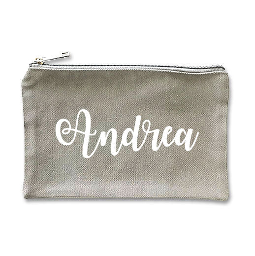 Canvas Makeup Bag - D