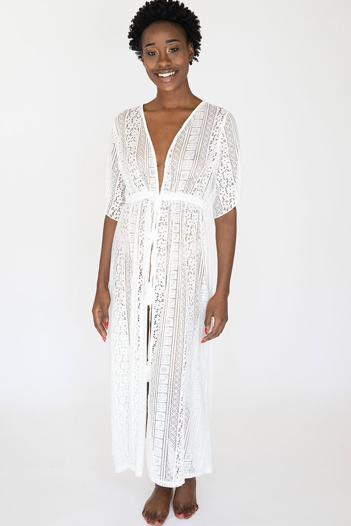 Long Lace Olivia Robe