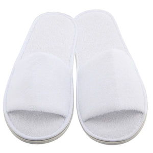 White Open Toed Slipper