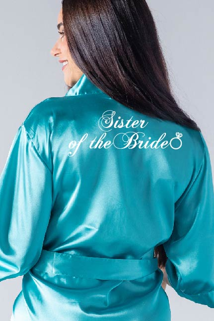 Ring Style - Sister of the Bride Robe