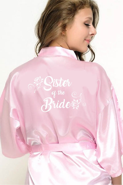 Flower Style - Sister of the Bride Robe
