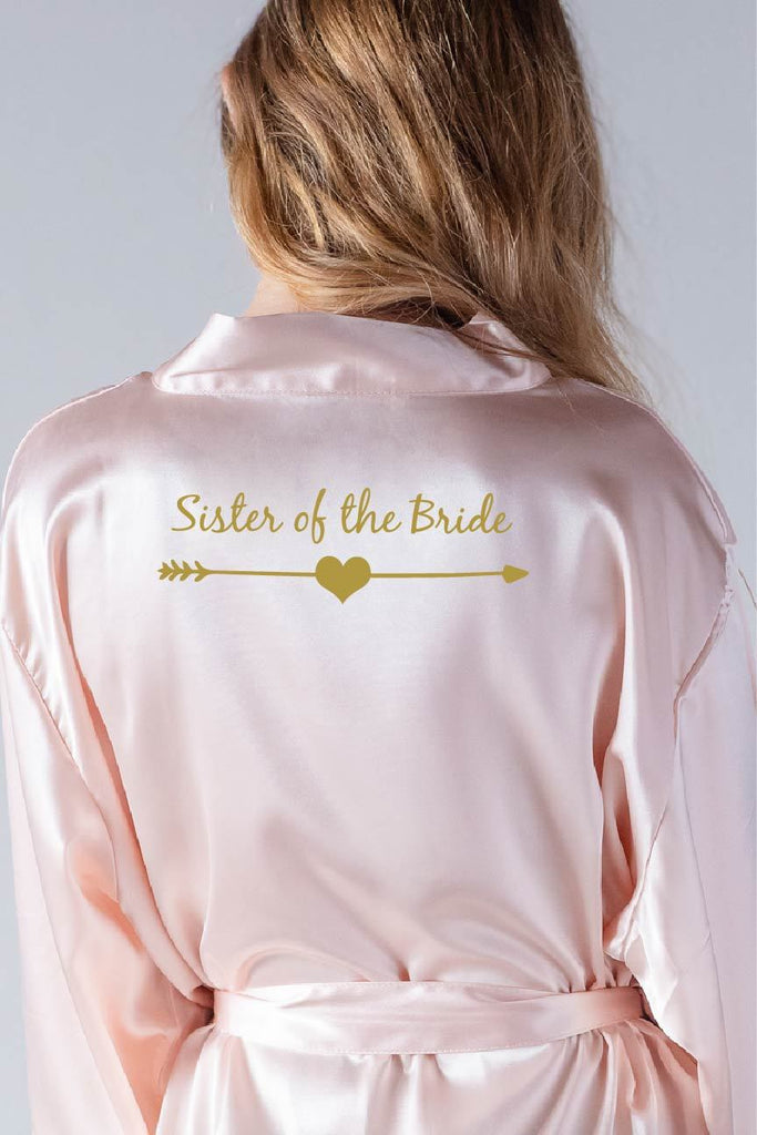 Arrow Style - Sister of the Bride Robe