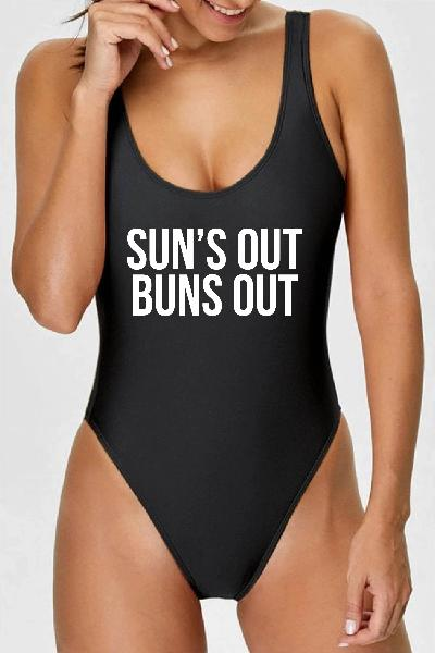 Swimsuit - Sun's Out Buns Out