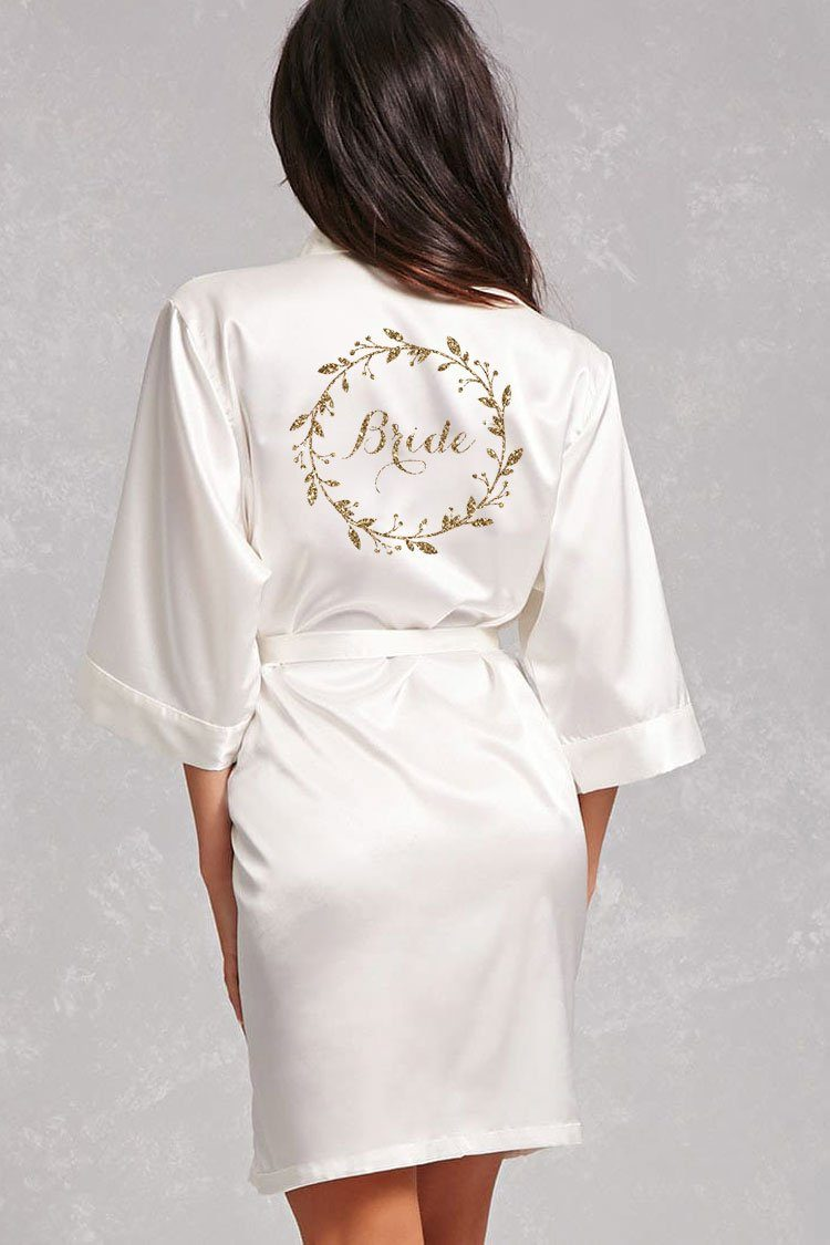 Wreath Style - Bride Robe