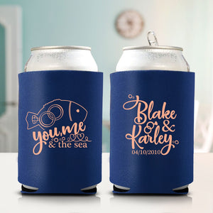 You Me and the Sea Koozie