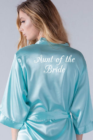 Elegant Style - Aunt of the Bride Robe