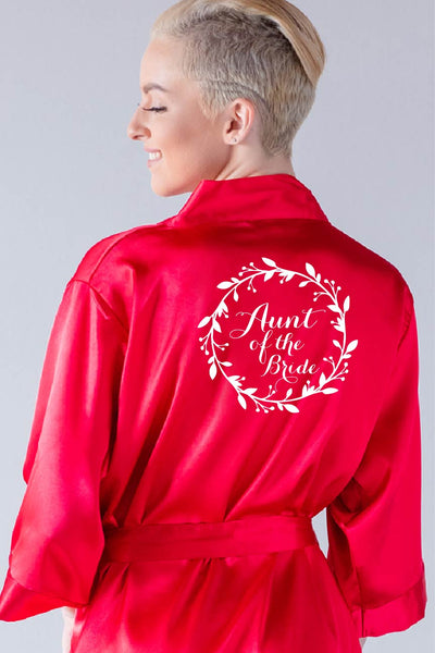 Wreath Style - Aunt of the Bride Robe
