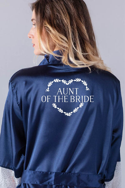 Heart Wreath Style - Aunt of the Bride Robe