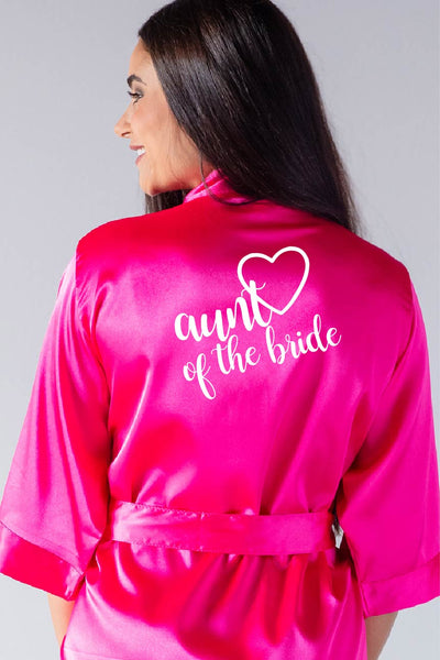 Heart Style - Aunt of the Bride Robe