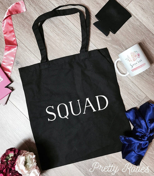 Squad - Canvas Tote Bags
