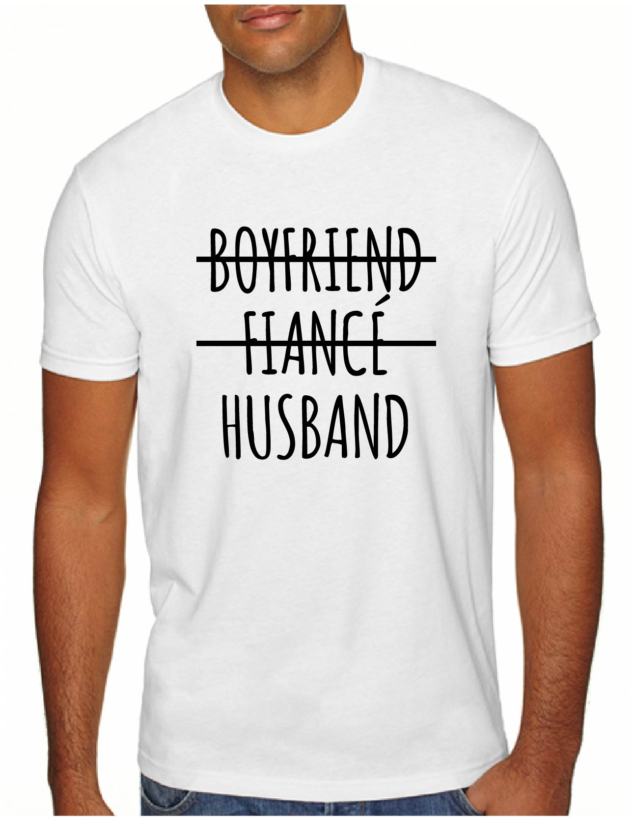 Boyfriend Fiancé Husband Men's Tee