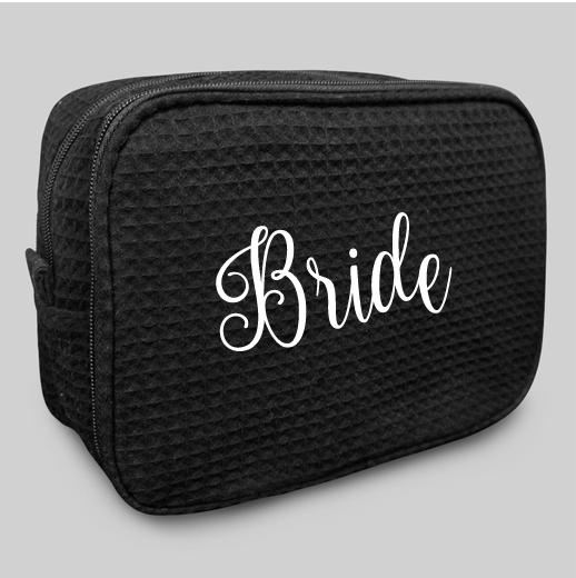 Black Makeup Bag
