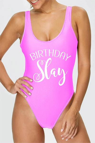 Swimsuit Birthday - Birthday Slay