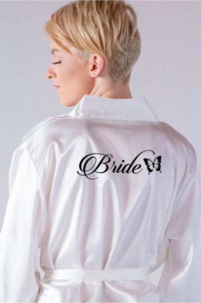 Butterfly Style - Bride Robe