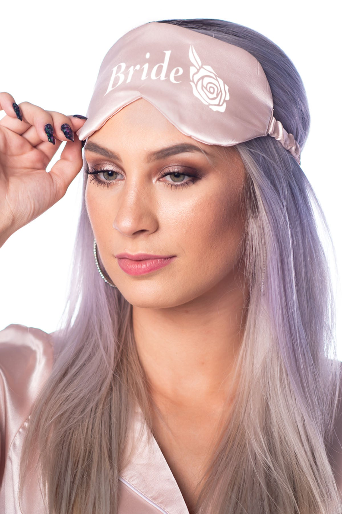 Eye Mask - Bride Rose