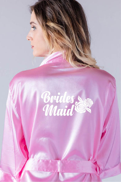 Rose Style - Bridesmaid Robe