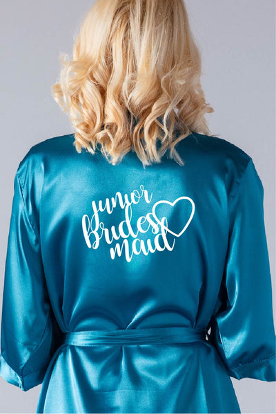 Heart Style - Junior Bridesmaid Robe