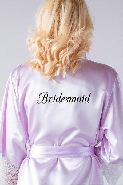 Elegant Style - Bridesmaid Robe
