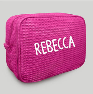 Fuchsia Makeup Bag