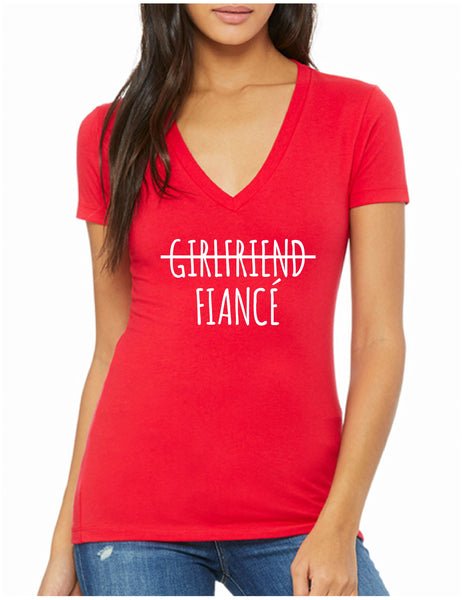 Girlfriend Fiancé Tee