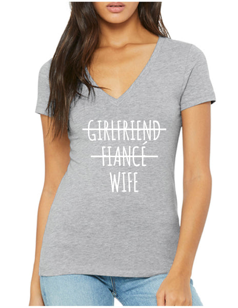 Girlfriend Fiancé Wife Tee
