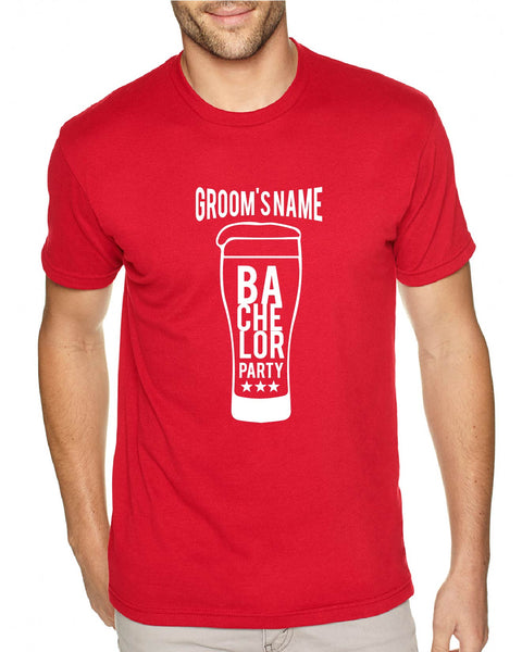 Groom Bachelor Mug Men's Tee