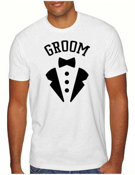 Groom Tux Style Men's Tee
