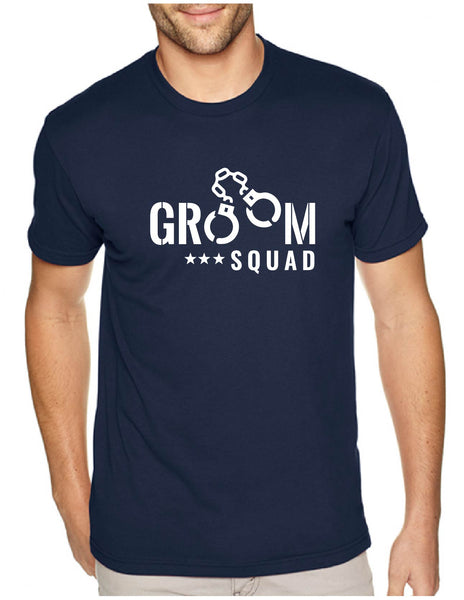 Groom Squad Style 2 Men's Tee