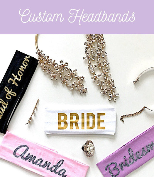 Custom Headbands - PrettyRobes.com