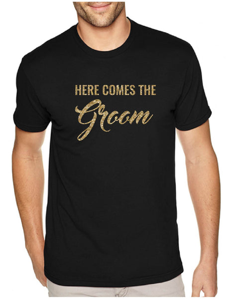 Here Comes The Groom Men's Tee
