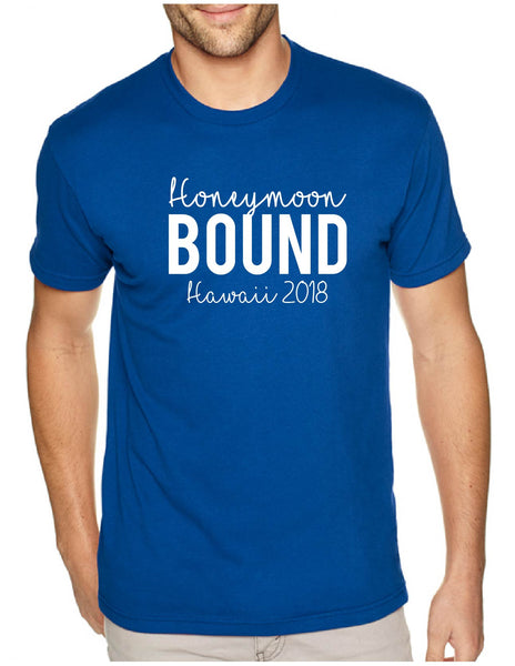 Honeymoon Bound Men's Tee