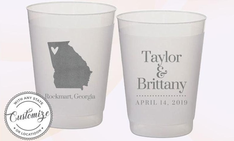 Texas Wedding Cups (30)