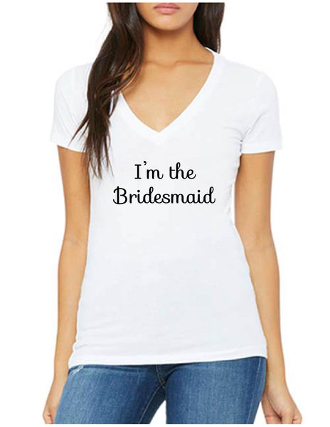 I'm The Bridesmaid Tee