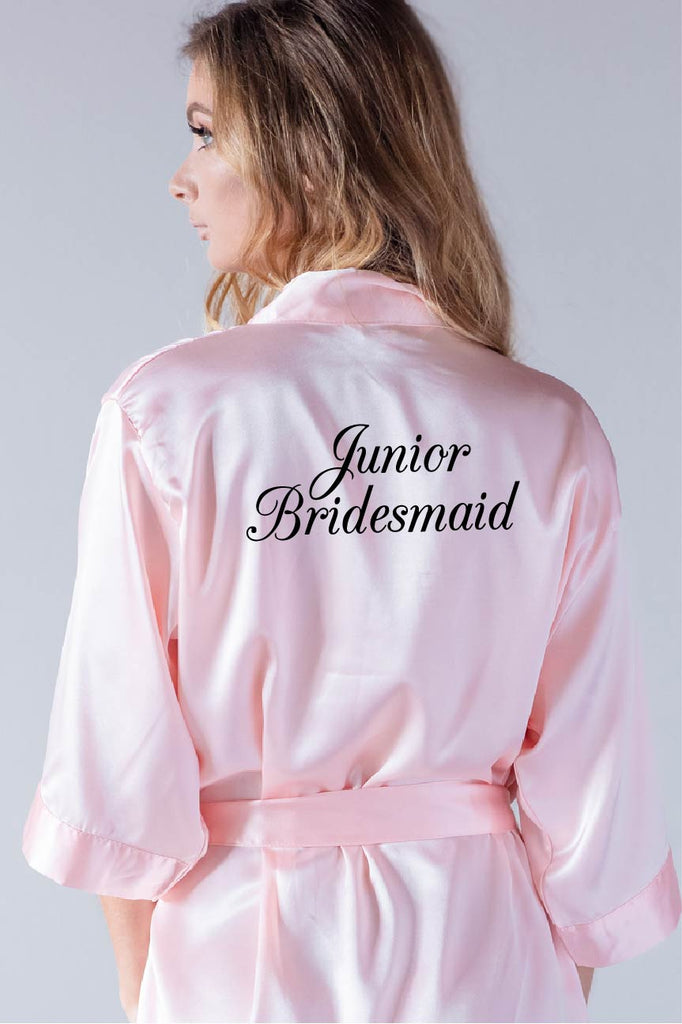 Elegant Style - Junior Bridesmaid Robe