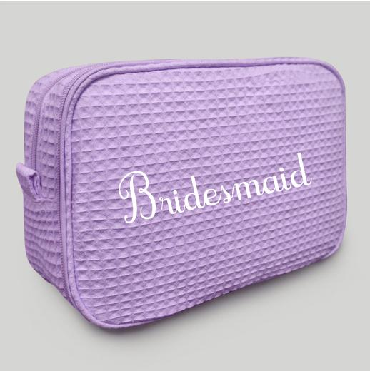 Lavender Makeup Bag