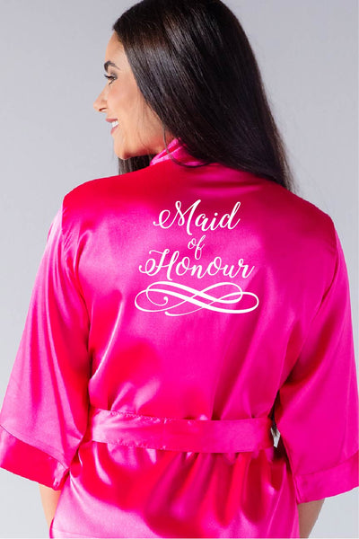 Swirly Style - Maid of Honour Robe