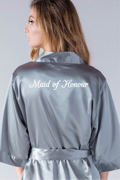 Elegant Style - Maid of Honour Robe