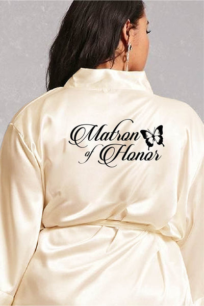 Butterfly Style - Matron of Honor Robe
