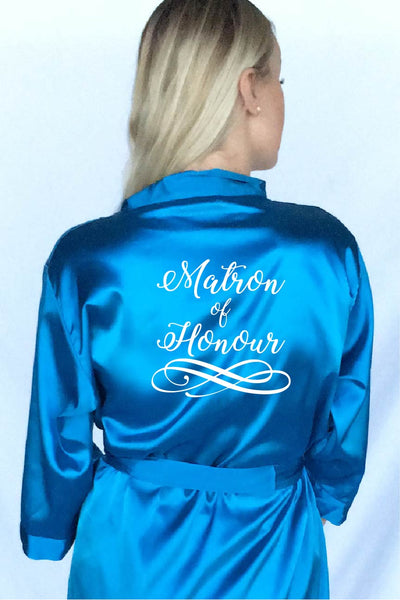 Swirly Style - Matron of Honour Robe