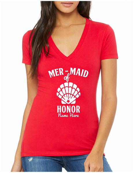 Mer-maid of Honor Tee