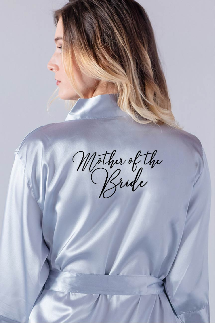 Handwritten Style - Mother of the Bride Robe