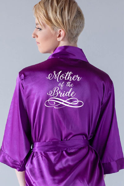 Swirly Style - Mother of the Bride Robe