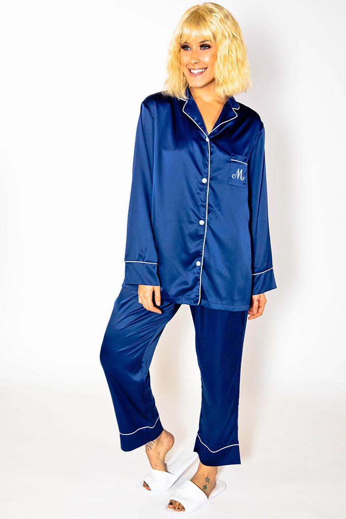 Pajama Pant Set - Navy