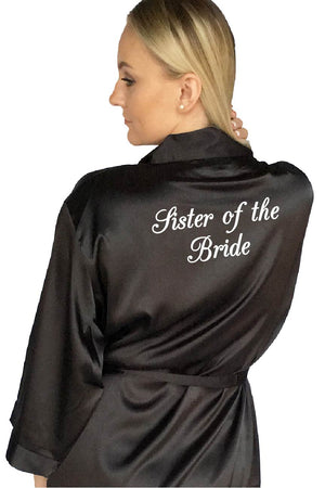 Elegant Style - Sister of the Bride Robe