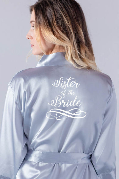 Swirly Style - Sister of the Bride Robe